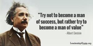 Albert Einstein Success